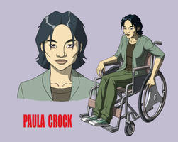 YOUNG JUSTICE: PAULA CROCK by Jerome-K-Moore