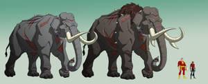 YJ: KOBRA VENOM ELEPHANTS by Jerome-K-Moore