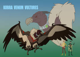 YJ: KOBRA VENOM VULTURES by Jerome-K-Moore