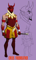 YOUNG JUSTICE: CIRCUS FIREBREATHER by Jerome-K-Moore