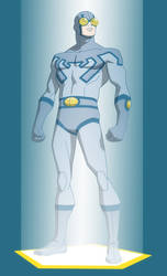 YOUNG JUSTICE: INVASION: BLUE BEETLE MEMORIAL HOLO by Jerome-K-Moore