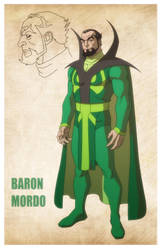 USM: BARON MORDO by Jerome-K-Moore