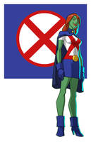 YOUNG JUSTICE: MISS MARTIAN by Jerome-K-Moore