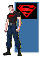 YOUNG JUSTICE: SUPERBOY by Jerome-K-Moore