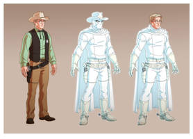 USM: SHERIFF BEN PARKER is THE PHANTOM RIDER! by Jerome-K-Moore
