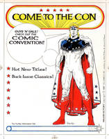 MAJOR VICTORY COMIC CONVENTION AD by Jerome-K-Moore