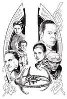 STAR TREK: DEEP SPACE NINE #1 by Jerome-K-Moore