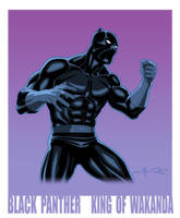 BLACK PANTHER: KING OF WAKANDA by Jerome-K-Moore