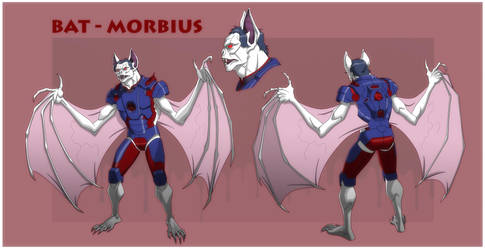 USM: BAT-MORBIUS by Jerome-K-Moore