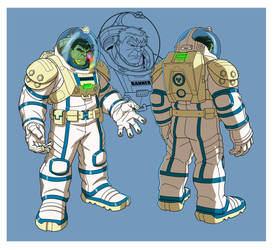 HAS: HULK SPACESUIT by Jerome-K-Moore