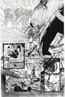 TT: NIGHTWING vs DEATHSTROKE Part Four by Jerome-K-Moore