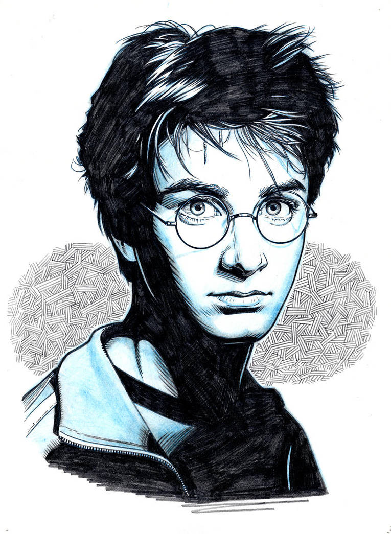 Harry Potter By Jerome K Moore