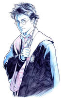 POTTER POSE by Jerome-K-Moore