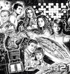 LOST IN SPACE: THE ROBINSONS by Jerome-K-Moore