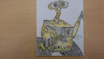 Wall-E by ebrolic