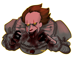 Pennywise by MeowTownPolice