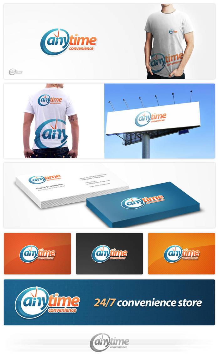 anytime logo design by eLdIn94