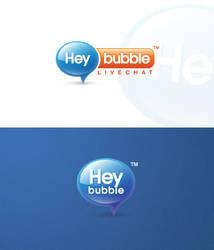 HeyBubble livechat logo by eLdIn94