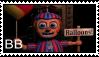 FNAF 2 - BB Stamp by SolarFluffy