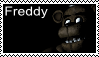 FNAF - Freddy Stamp by SolarFluffy