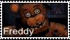 FNAF 2  - Freddy Stamp by SolarFluffy