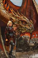Visenya Targaryen (Revamped) by ncorva