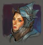 Warrior Girl by ncorva