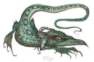 nipon dragon by HOMELYVILLAIN