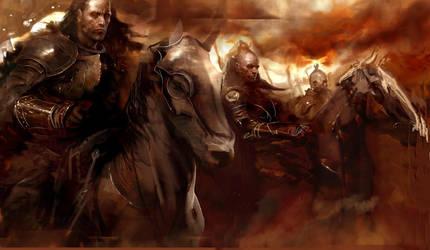 Riders by coskoniotis