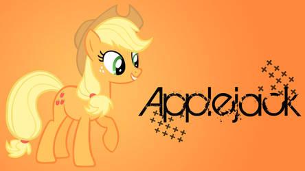 Applejack Added Name WP by Hufflepuff-Disney