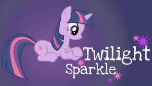 Twilight Sparkle Added Name WP by Hufflepuff-Disney