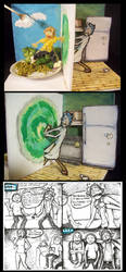 Interdimensional Dining (and also TV) by SonicFanFromLyoko
