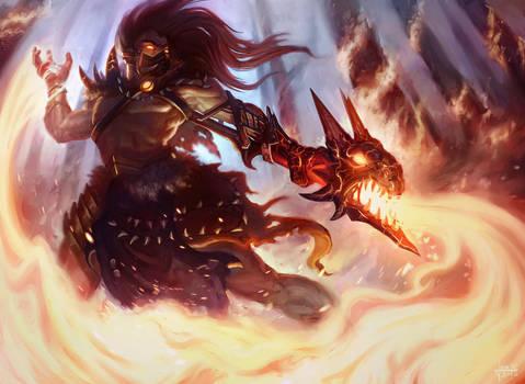Pyromancer by Andantonius