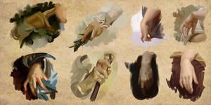 Hand Studies 001 by Andantonius