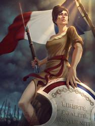 Liberte Athena by Andantonius