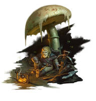 Darklands Intro Character by Andantonius