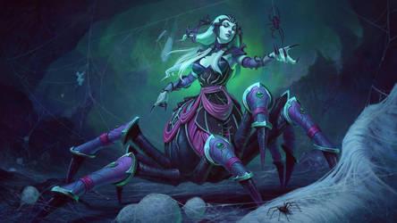 Arachne by Andantonius