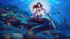 Sea Maiden Medusa by Andantonius