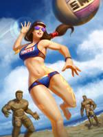 Nu Wa Volleyball by Andantonius