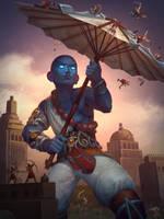 Vamana Divine Protector by Andantonius
