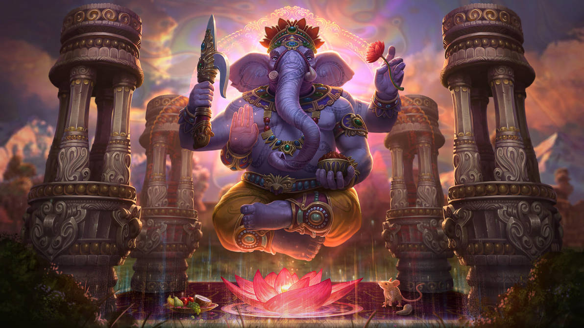 Ganesha by Andantonius