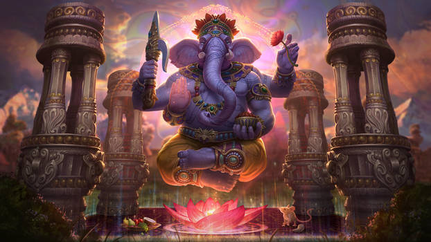 Ganesha by Andantonius