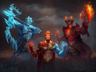 Frostfire Ullr by Andantonius