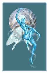Frost Fairy Commission by Meaghz
