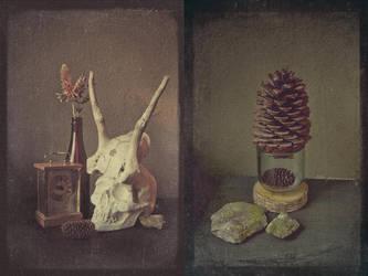 Zapfen im Glas by Knechter