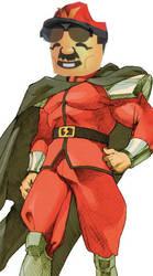 Mario Bison Mii by SnD-Frostey