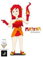 Arisha Tsubaki (gift for Major-Link) by SnD-Frostey