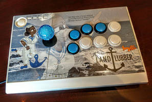 LandLubber custom fightstick by SnD-Frostey