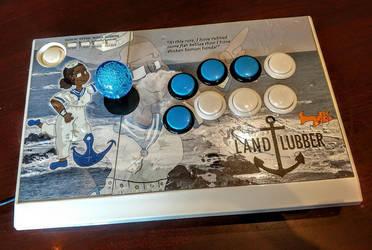 LandLubber custom fightstick by SnD-Frostey