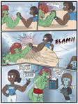 LandLubber 003/04 Enthe Arm Wrestles Grungo by SnD-Frostey